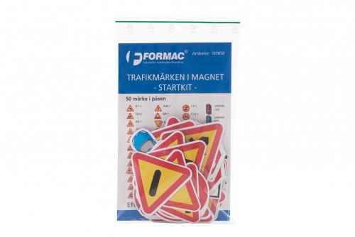 Trafikmärken i magnet - startkit