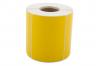 Däcketikett gul utan tryck