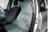 Sätesskydd i grå nylon