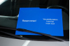 Bildisplay blå, 1-färgstryck, 2-sidor