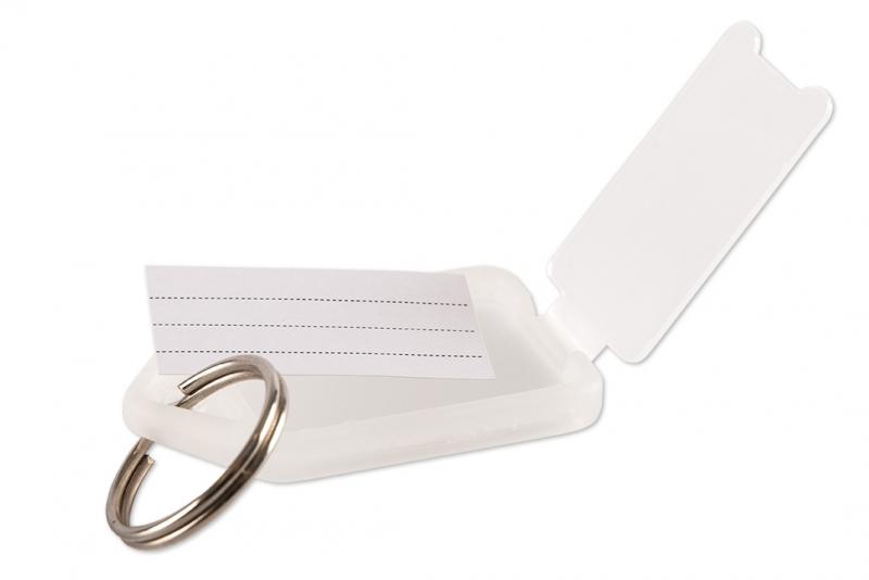 Nyckelmärkning i plast