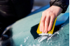 Isskrapa klassisk gul