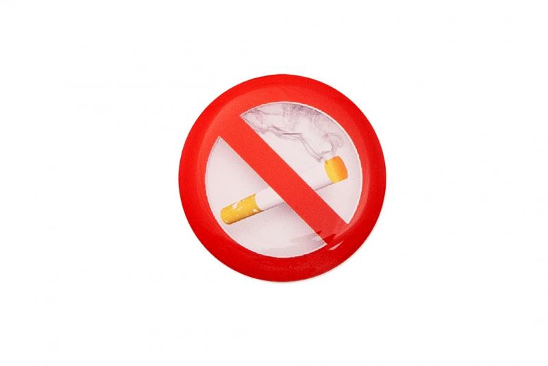Domemärke Ej rökning