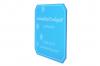 Isskrapa transparent blå, 1-tryckfärg, 1-sida