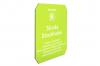 Isskrapa transparent lime, 1-tryckfärg, 1-sida