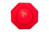 Trafikkon röd reflex stor