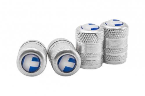 Ventilhatt i aluminium med domemärke