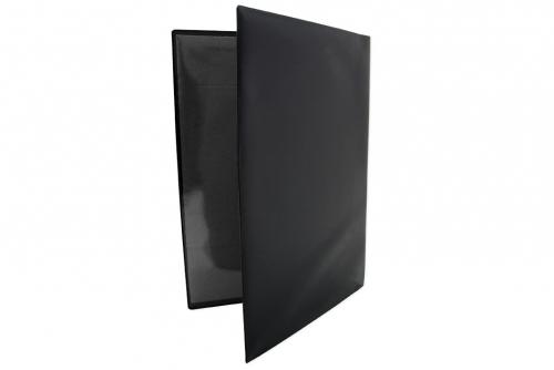 Fordonsmapp i svart plast