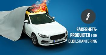 Säkerhetsprodukter för elbilshantering