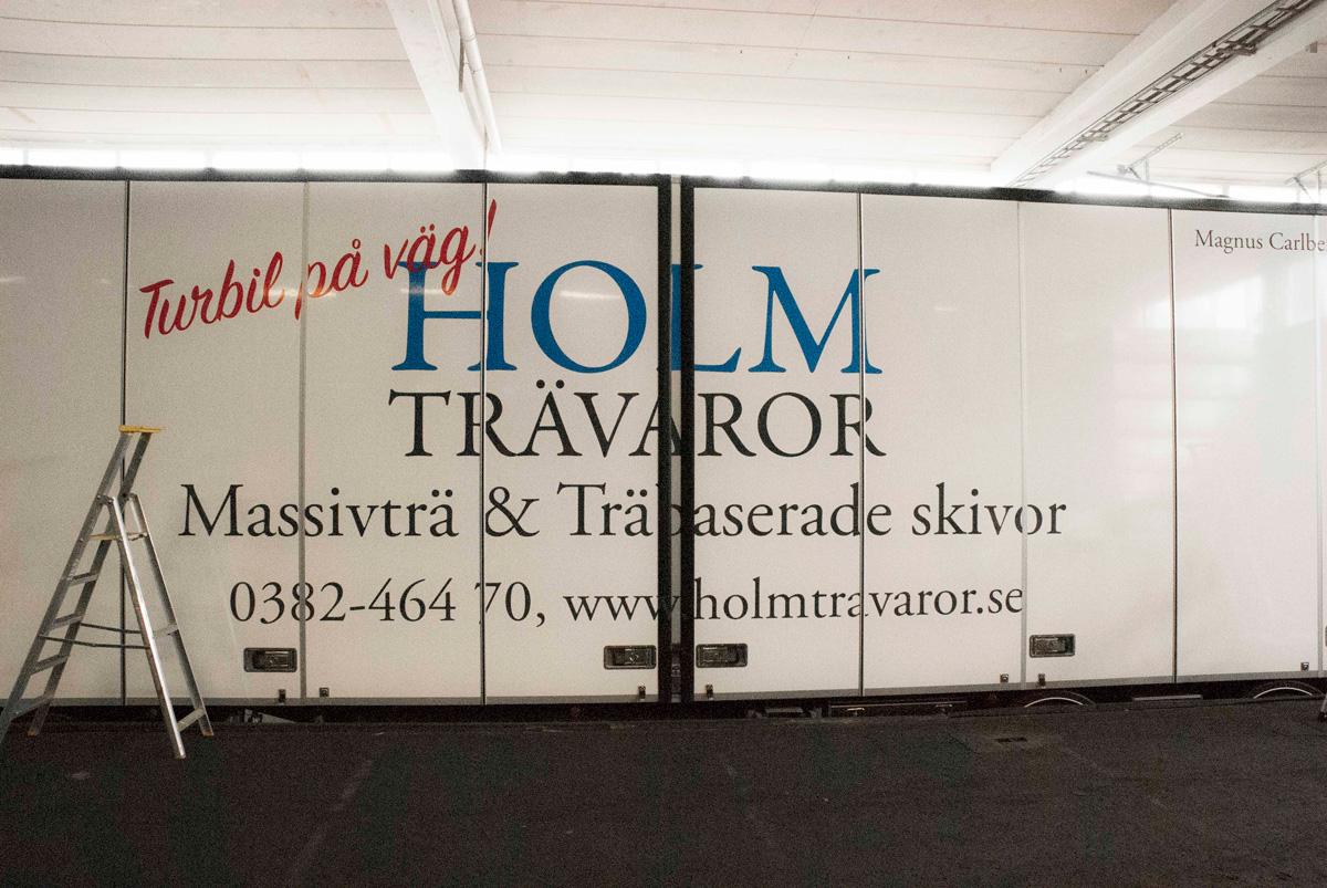 Holm Trävaror lastbilsdekor granskning