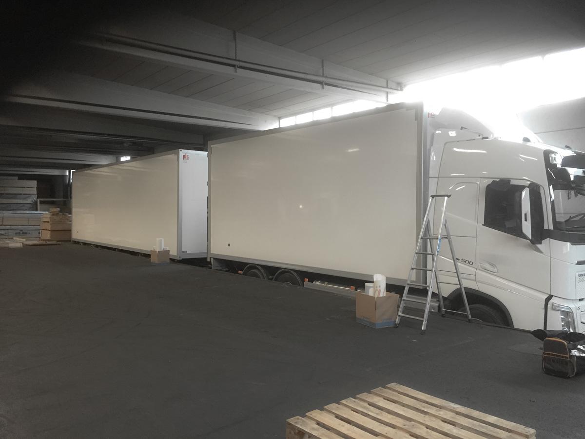 Holm Trävaror lastbilsdekor blank